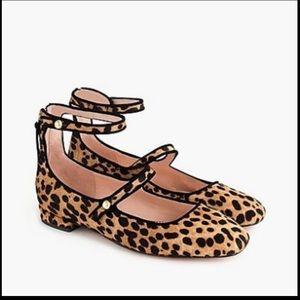 Jcrew leopard print  Mary Jane